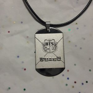 Kpop BTS Army Dog Tag Necklace